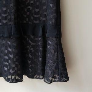 Reiss Dresses - Reiss Abigail Embroidered Burnout Dress Sz 10